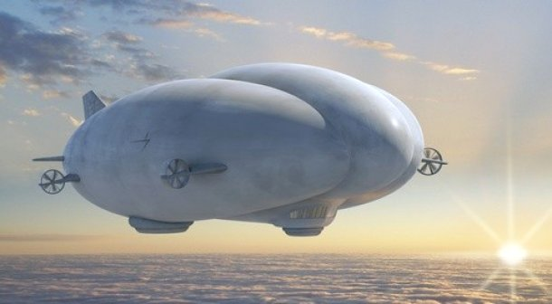 Endurance hybrid airship