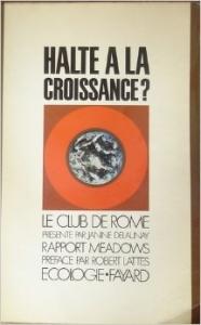 Rapport Meadows au Club de Rome, Halte à la croissance