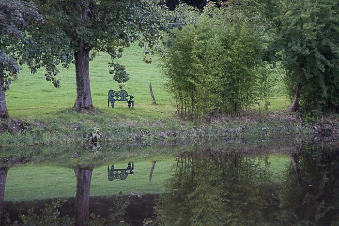 """Parc du château de Cerisy, octobre 2013, photo Dom Lacroix, <a href=""""https://panamo.eu"""">Panamo.eu</a>"""