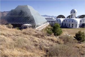 vue extérieure de Biosphère 2