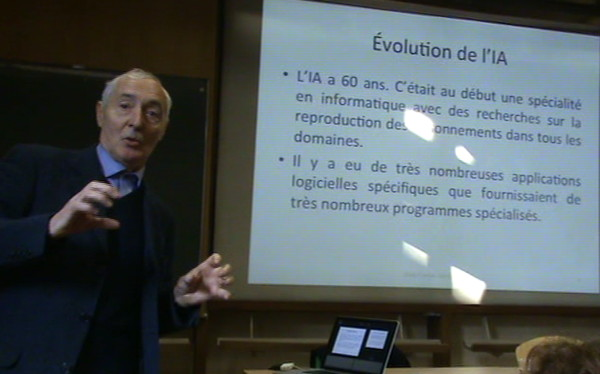 Conférence d'Alain Cardon;Discussions;Extensions;Conclusion