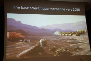 Une base scientifique martienne vers 2050